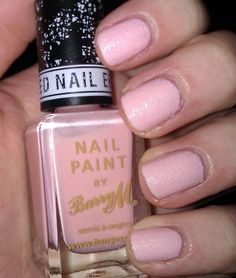 Barry M Textured Effect in Kingsland Road #nails #BarryM #texturedpolish
