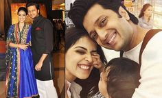 One of the most adorable couple of Bollywood, Genelia and Riteish Deshmukh, are expected to welcome their second child in Yes, the buzz is that Gnelia is pregnant with her second child! Read on to know all the details. Bollywood Couples, Bollywood News, Bollywood Fashion, Second Baby, Second Child, Celebrity Couples, Celebrity Dresses, Genelia D'souza, Lara Dutta