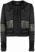 Isabel Marant|Jayna studded wool-twill jacket |NET-A-PORTER.COM