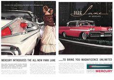 1958 Mercury Park Lane Ad
