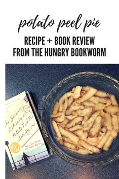 Make the potato peel pie from the historical fiction novel The Guernsey Literary and Potato Peel Pie Society.   Brought to you by The Hungry Bookworm blog.