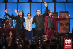 #Weezer onstage at the 2014 iHeartRadio Music Festival! #iHeartRadio