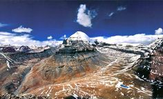 A panoramic view of mount Kailash,Tibet.One of the most holy place of Hindus and…