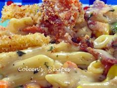 Coleen's Recipes: BACON MACARONI & CHEESE
