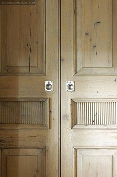 gorgeous door detail.
