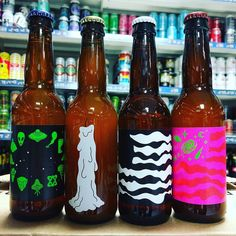 4 new beers from @omnipollo including Arzachel - 3.5% Session Imperial IPA