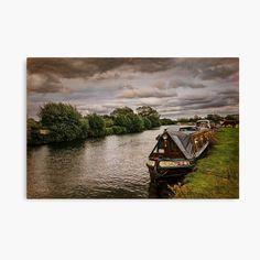 Framed Prints, Canvas Prints, Art Prints, Narrowboat, My Canvas, Great Britain, Art Boards, My Arts, Scene