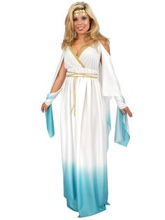 Greek Goddess Adult Costume | Wholesale Greek & Roman Costumes for Women - $35