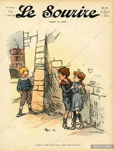 Francisque Poulbot 1912 Lovers, Children