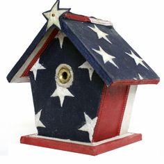 #americana #flag #birdhouse by Michael Cuffe