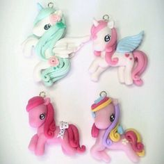 Little pony charms