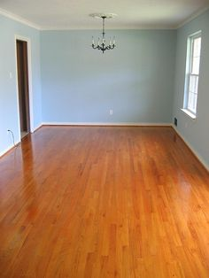 How to clean wood floors instead of refinish.