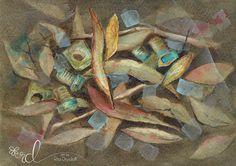 Detritus Series 4 Watercolour