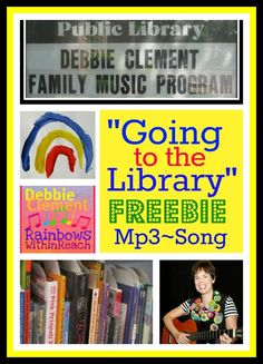 """""""Going to the Library"""" FREEBIE Mp3: Song by Debbie Clement"""