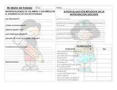 Formato de diario ~ Educación Preescolar, la revista
