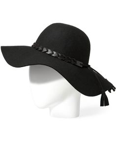 Black brim hat with pom poms from Zara perfect for Winter race wear!