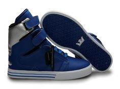 Supra TK Society Blue Silver Women's Shoes
