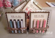 altered clothes pins | altered clothespins- great packaging