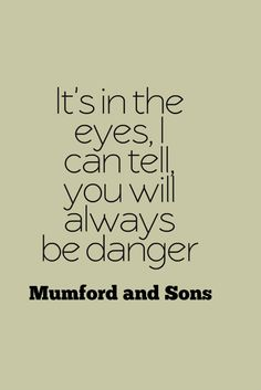 Mumford and Sons | Snake Eyes