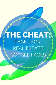 The CHEAT - Get on Page 1 with your Google Places page in 4 steps. Sure, seo is very hard for your website. But these 4 steps kill it when it comes to ranking your Google Places page. Click to see what they are and how they can help you grow. Re-Pin to remember the tips! #realestate #realtor #marketing