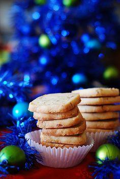 Almond shortbread cookies with Amaretto by JuliasAlbum.com, via Flickr