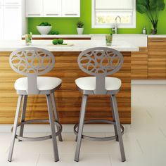 AMISCO - Venus Stool (41305) - Furniture - Kitchen - Eco collection - Traditional - Swivel stool