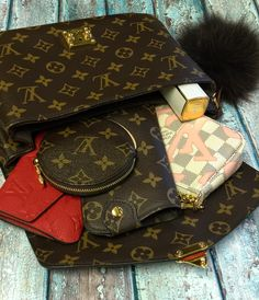 2c9aa887ac0 Louis Vuitton Monogram Pochette Metis Bag. Louis Vuitton Out with LV Pouch  & Wallet.