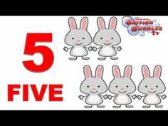 b1d1f9934 Los números del 1 al 10 para niños pequeños. Aprende los primeros números  de educación
