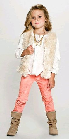 We got the pants , we got a vest similar to this. We just need a top and accessories