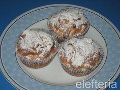 Γεύση Ελευθερίας: ατομικά μηλοπιτάκια Muffin, Favorite Recipes, Sweets, Homemade, Breakfast, Food, Sugar, Morning Coffee, Goodies