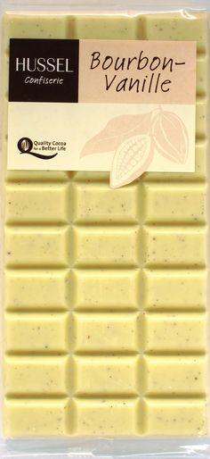 """Hussel Weiße Schokolade """"Bourbon Vanille"""""""