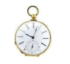 Antique Agassiz Pocket Watch