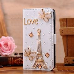 2 Pack 3D Handmade Pearl Lattice Flowers Design Leather Case with Wrist Strap /& Screen Protector STENES Bling Wallet Case Compatible with LG Stylo 4 - White