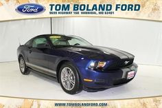 2010 Ford Mustang, 43,926 miles, $15,659.