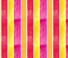 Bright Stripe fabric by countrygarden on Spoonflower - custom fabric