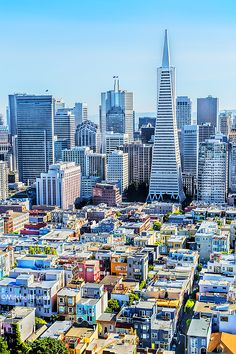 •High Angle View Of San Francisco Skyline From Coit Tower, www.mitchellfunk.com
