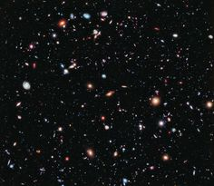 The Hubble eXtreme Deep Field | ESA/Hubble [Note: Alone in the Universe, LOL]