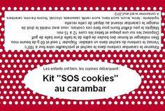 Étiquettes ainsi que les recettes pour réaliser pas moins de 5 kits gourmands - Labels and recipes to make no less than 5 greedy kits