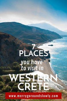 Best places to see in Crete, Greece, including Elafonisi, Falassarna, Topolia Gorge, Aspri Limni, Balos and Gramvousa, Milia, Lake Kournas #crete #greece #europe #elafonisi #balos #gramvousa #spring #travel #insipiration #budgettravel #familytravel #romantic #greek #beach #mediterranean