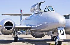 Navy Aircraft, Ww2 Aircraft, Military Aircraft, Gloster Meteor, Royal Air Force, Air Show, Royal Navy, Fighter Jets, Nikon D3100