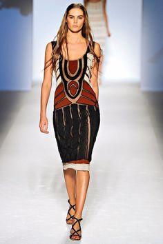 Alberta Ferretti  Catwalk  heavily beaded evening dress  size 8  IT40