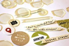 DIY Epoxy Embellishments...way cool!