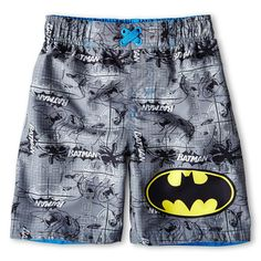 Swim trunks for Aiden? Boys Swim Trunks, Boys Swimwear, Fashion Brands, Fashion Styles, Liz Claiborne, Baby Boy Outfits, Little Boys, Kids Fashion, Batman