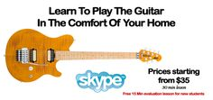 Skype Guitar Lessons & Online Teaching Resource