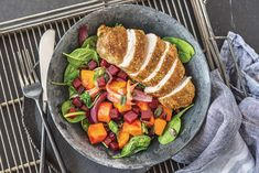 Dukkah Chicken & Vegetable-Fetta Medley Recipe | HelloFresh