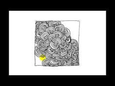 Zentangle Patterns | Tangle Patterns - Wheelz - YouTube