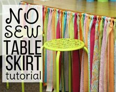An easy way to dress up your classroom and hide some clutter at the same time.  Check out tutorial.