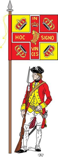 Regiment Clare. Irishmen in French service.