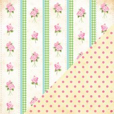 Vintage Wallpaper/Polka Dot