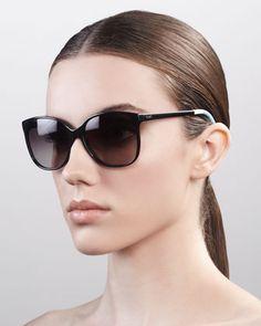 Classic 202 Sunglasses, Black/Gray at CUSP.